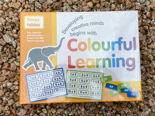 Colourful Learning- Times Tables