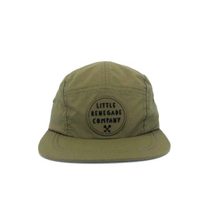 5 Panel Cap- Olive Multi Sizes Available