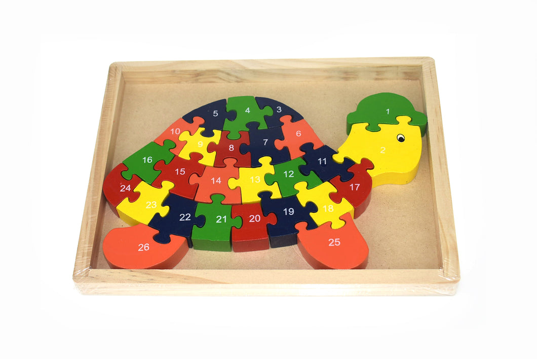 Turtle Jigsaw in tray 26PCS