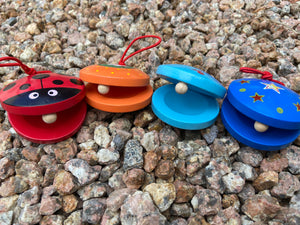 Wooden Castanets ( Clappers)