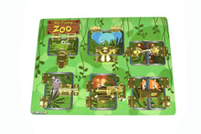 Load image into Gallery viewer, Latches Puzzle- My Funny Zoo