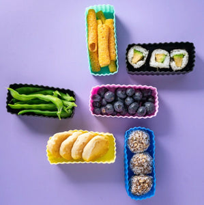 BENTO CUPS RECTANGLE- Available in a range of colours