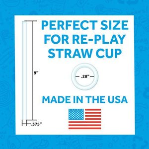 Re- Play Straw Cups- Multi Colours Available