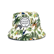 Load image into Gallery viewer, Jungle Fever Reversible Bucket Hat- 3 sizes available