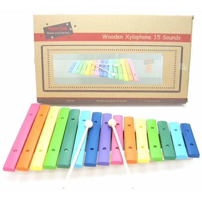 Colourful Wooden Xylophone