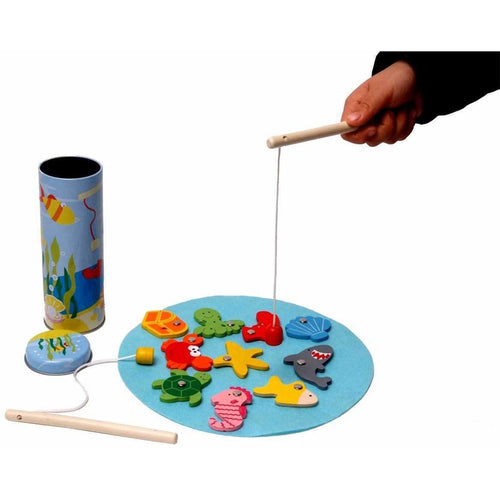 Fishing Game in Tin Box
