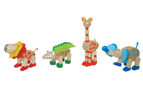 Wooden Flexi Jungle Animals