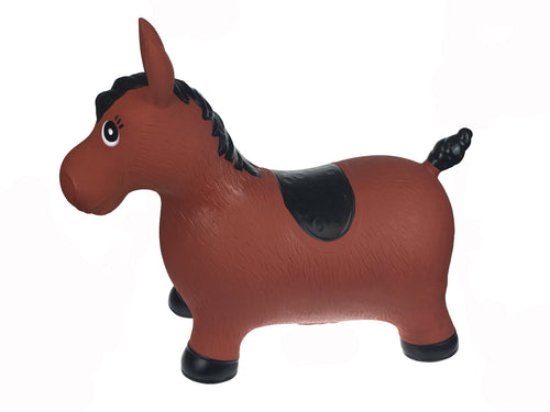 Bouncy Rider - Brown Horse