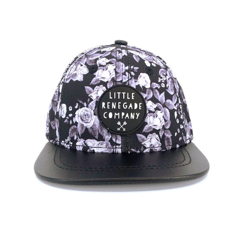 Midnight Blossom Cap- 3 Sizes Available