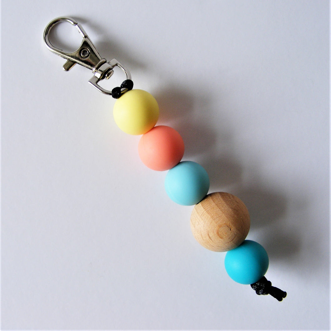 Retro Key Ring