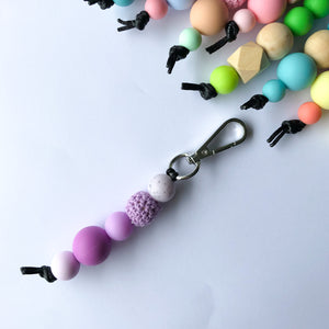 Purple Urple Key Ring