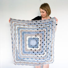 Soft Blue Ripple - Made to Order