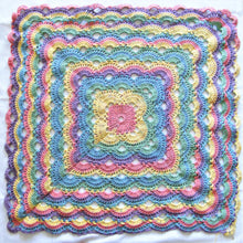 Rainbow Ripple Blanket - Made to Order