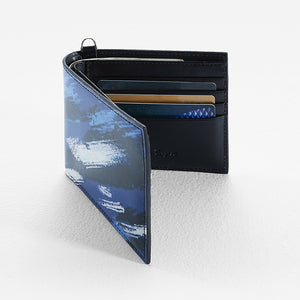 06350-Street Style Camouflage Wallet (Blue)