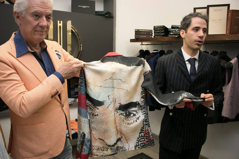 Enrique and Emilio Welton at their shop