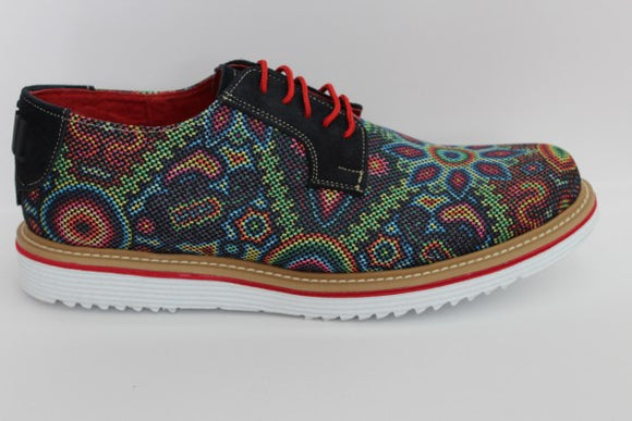 Huichol Derby Shoes - KUNST.MX