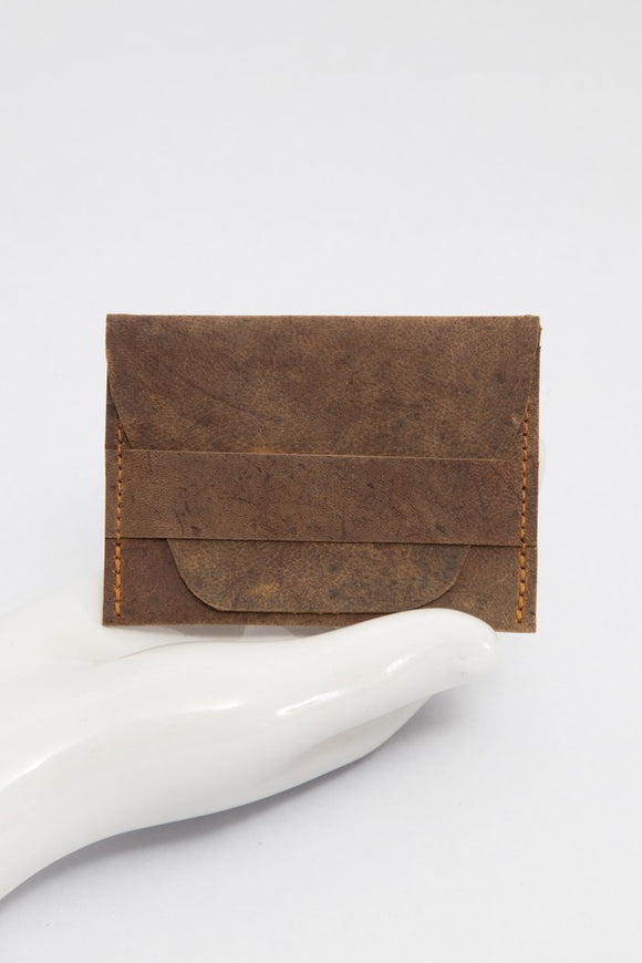 HH Card Holder - Brown - KUNST.MX