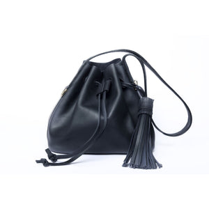 Mini Black Pouch Bag - KUNST & EATS