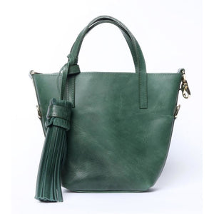 Simple Mini Tote Emerald Bag - KUNST