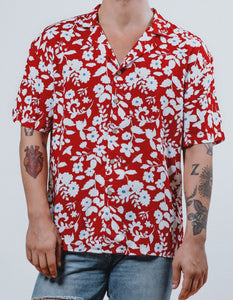 """Cosmos"" Hawaiian Shirt - KUNST & EATS"