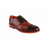 Monte Carlo Brown Oxford Shoes - KUNST.MX