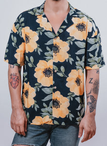 """Anémona"" Hawaiian Shirt - KUNST.MX"