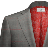 Gray & Red Plaid Suit - KUNST