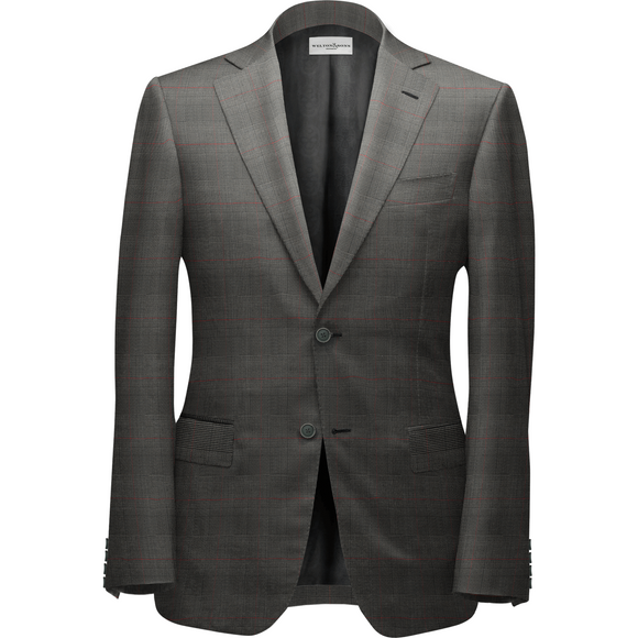 Dark Gray Bespoke Suit - KUNST.MX