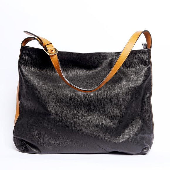 Black Amelia Satchel Bag - KUNST
