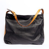 Black Amelia Satchel Bag - KUNST.MX