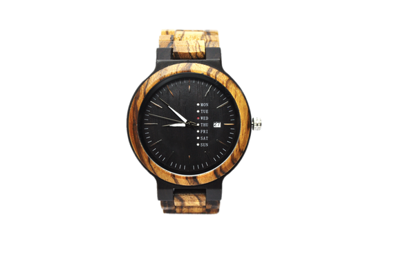 Bay Willow - Wood Watch - KUNST & EATS