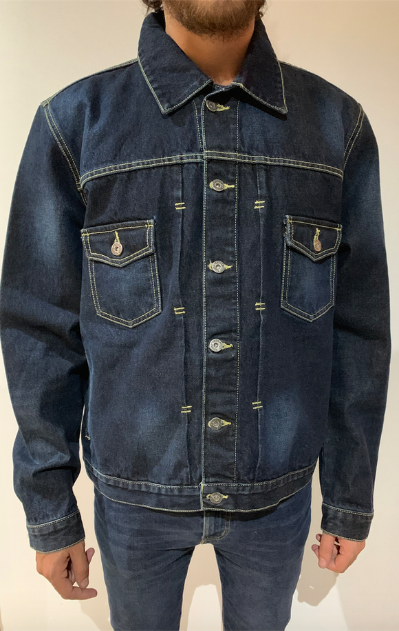 Bohemian Denim Jacket - KUNST.MX