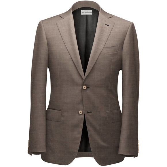 Gentle Brown Bespoke Suit - KUNST.MX