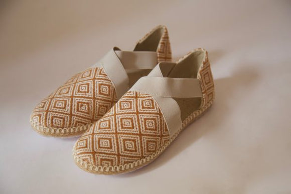 Balam Sandals - Mustard Yellow - KUNST & EATS