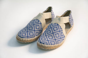 Balam Sandals - Blue - KUNST.MX