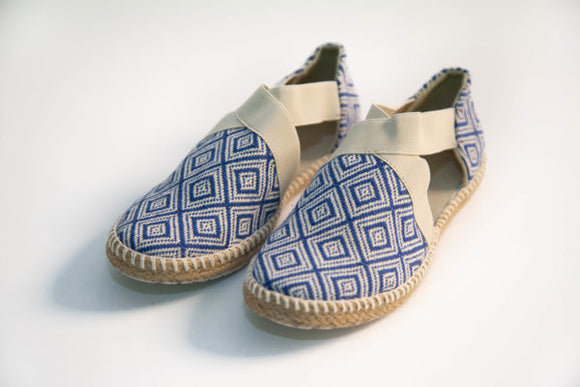 Balam Sandals - Blue - KUNST & EATS