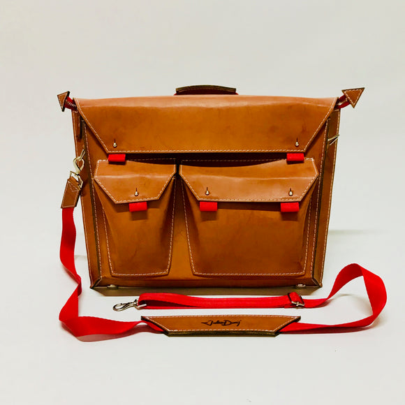 Justice Briefcase Bag - KUNST & EATS