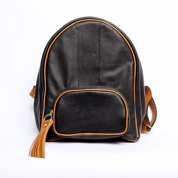 Antonia Black Backpack - KUNST