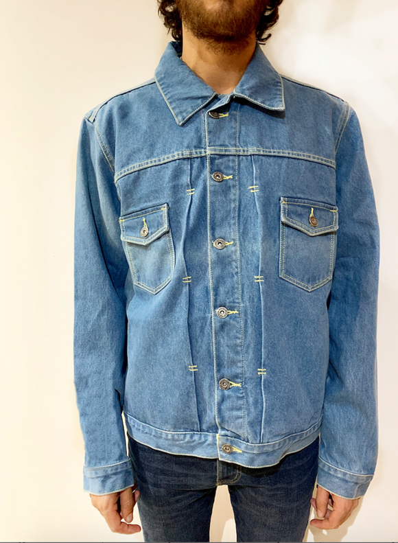 K.I.S.S Denim Jacket - KUNST.MX