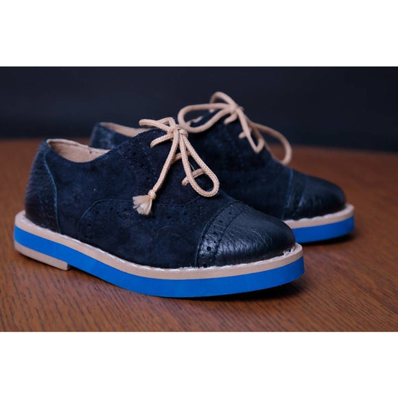 Royal Blue Shoes - KUNST & EATS