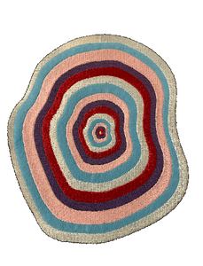 """Color Swirl"" Denim Patch - KUNST"