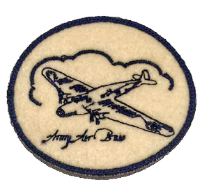 """Army Air Base"" Vintage Style Denim Patch - KUNST.MX"