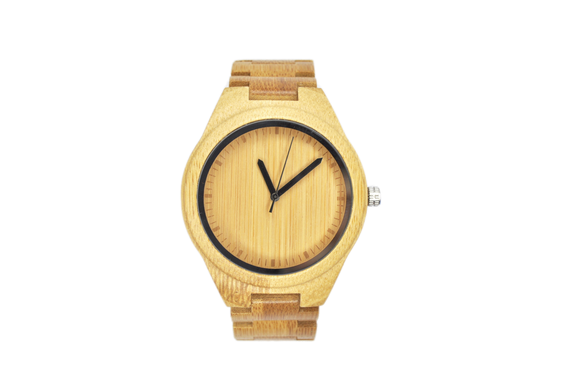Pawnee Pecan - Bamboo Wood Watch - KUNST & EATS