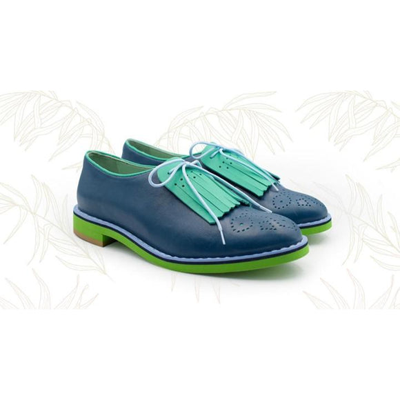 Pollini Bostonian Shoes - KUNST.MX