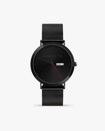 A La Verb Watch - Matte Black - KUNST & EATS
