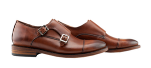 Enzo Monk Strapped Shoes - KUNST & EATS