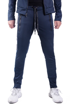 Good Boy Sporting Pants - Cobalt Blue & Black - KUNST