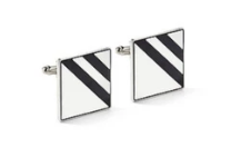 BRACK Cufflinks - Black - KUNST.MX