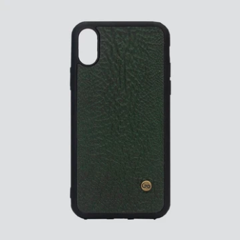 iPhone X/XS Case - Green Amazonia Shark - KUNST.MX