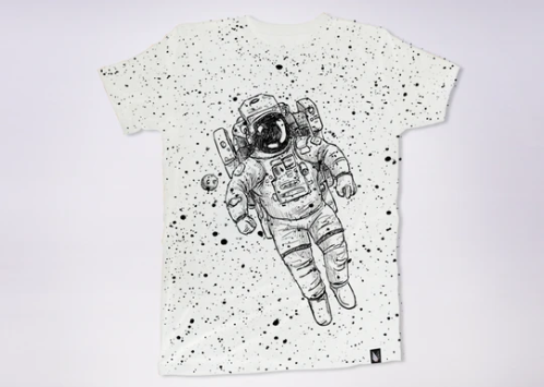 Lost In Space T-Shirt - KUNST & EATS